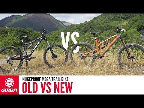 Nukeproof Mega Enduro Bike| Old Vs New How Do They Compare""