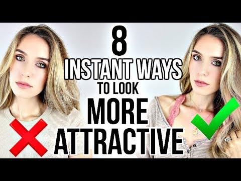 Video: 8 INSTANT WAYS TO LOOK MORE ATTRACTIVE!