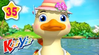 5 Little Ducks Part 2 | Plus More Nursery Rhymes | by KiiYii | Nursery Rhymes & Kids Songs