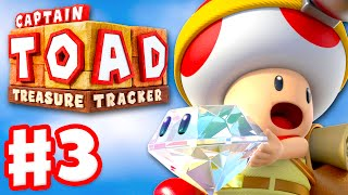 Captain Toad: Treasure Tracker - Gameplay Walkthrough Part 3 - Hunt for the Great Bird's Lair 100%