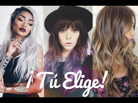 Las 10 TENDENCIAS de COLOR♡2016 (cabello)