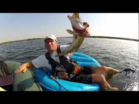 Щучья рыбалка на лимане (вариант2)