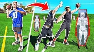 2HYPE NFL SUPER BOWL FOOTBALL CHALLENGE!