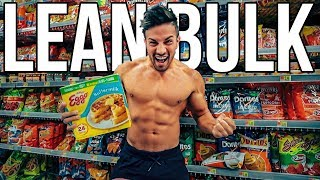 My Successful LEAN BULKING PHASE | Everything I Eat in A Day