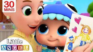 Mommy, Mommy I Love You | Little Angel Kids Songs & Nursery Rhymes