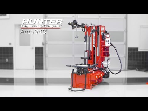Changeur de pneu Auto34S – La compagnie Hunter Engineering
