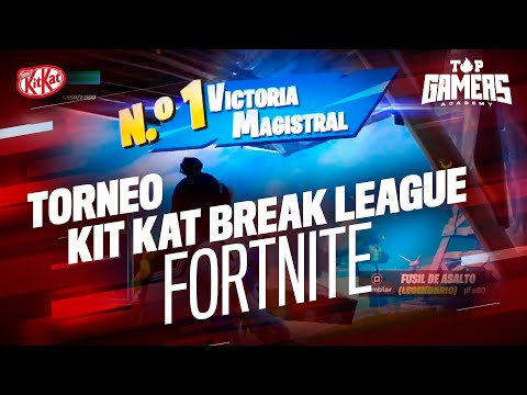 TORNEO BREAK LEAGUE – FORTNITE (26NOV) | TOP GAMERS ACADEMY
