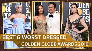 Taylor Swift, Anne Hathaway, Lady Gaga : Best And Worst Dressed At Golden Globe Awards 2019