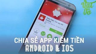 Vật Vờ - Ứng dụng kiếm tiền cực dễ trên smartphone Android/iOS