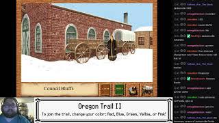 TKN Live: Oregon Trail II with Teams - Attempt 65