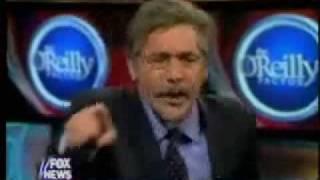 Bill O'Reilly/Geraldo Rivera FIGHT!!! with SOUND EFFECTS