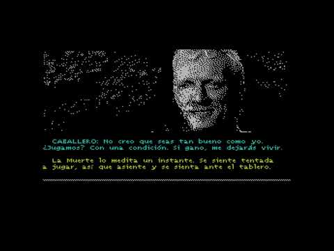 EL CABALLERO Y LA MUERTE (Parte 1) Zx Spectrum by Sequentia Soft