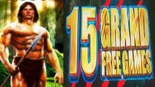 Finally Got a BIG WIN BONUS on Tarzan!