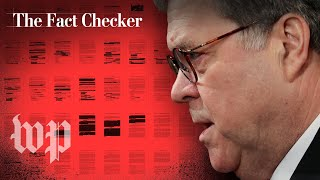 What Attorney General Barr said vs. what the Mueller report said   The Fact Checker