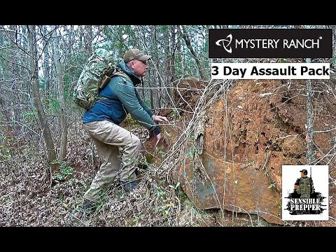 Mystery Ranch 3 Day Assault BVS Backpack Review