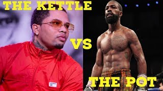 GERVONTA DAVIS CLOWNED BY GARY RUSSELL JR.  |  SAYS GERVONTA DOESN'T HAVE THE INTELLECT TO BEAT HIM