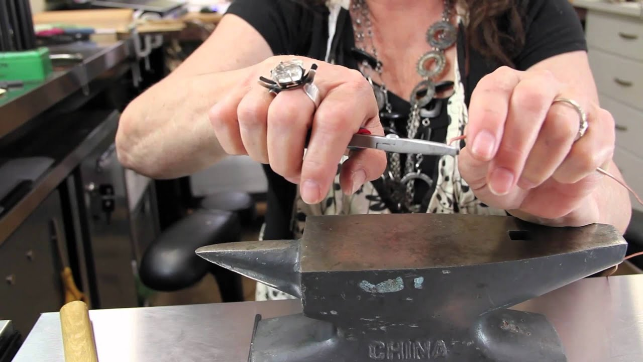 How To Make Jump Rings Jewelry Tips With Nancy Youtube
