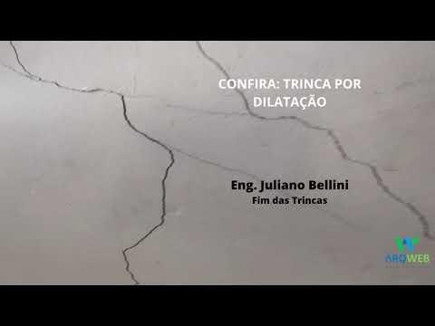 Trabalho recuperação de trincas com Eng. Juliano Bellini
