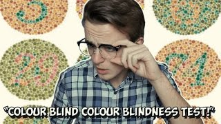 COLOUR BLIND GUY TAKES A COLOUR BLINDNESS TEST | FarFromFilm