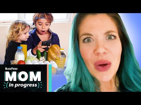 I Let My Kids Grocery Shop For The Week • Mom In Progress