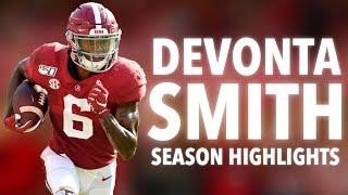 Alabama WR DeVonta Smith 2020 College Highlights