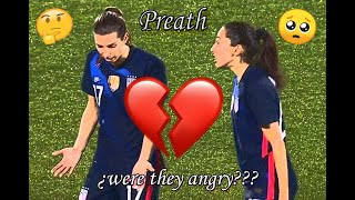Preath // were they angry??