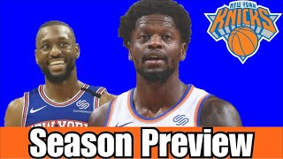 New York Knick's 2021-22 Season Preview