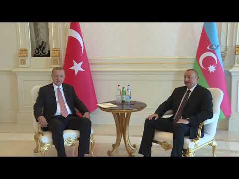 z-Başkan Erdoğan, Azerbaycan Cumhurbaşkanı Aliyev İle Görüştü