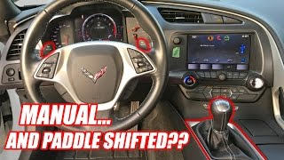 Manual Transmission With Paddle Shifters!?!