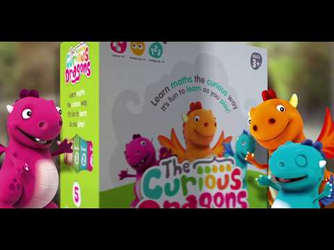 The Curious Dragons - Early Maths Learning Games