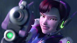 "Overwatch D.Va Animated Short Movie ""Shooting Star"""