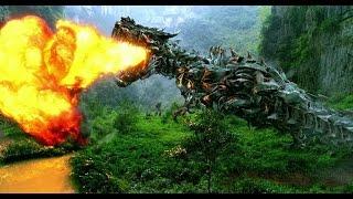 Transformers 4 - All Dinobot Scenes IMAX HD