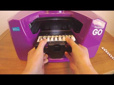 Printing Artificial Nails with the countertop