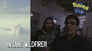 LA TRIP PART 1!!!  HUGE WILDFIRE INCIDENT!!!