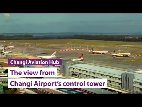 Changi 360 - The view from the control tower