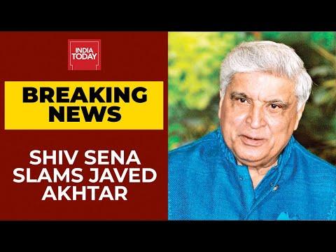 Shiv Sena Backs RSS, Slams Javed Akhtar For Equating Taliban With Sangh, VHP   Breaking News
