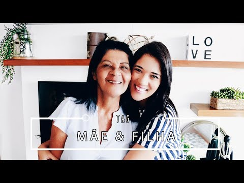MÃE & FILHA - 50 fatos sobre nós | Pigmento F