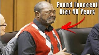 Top 10 People Found NOT Guilty After Serving Life Sentences!