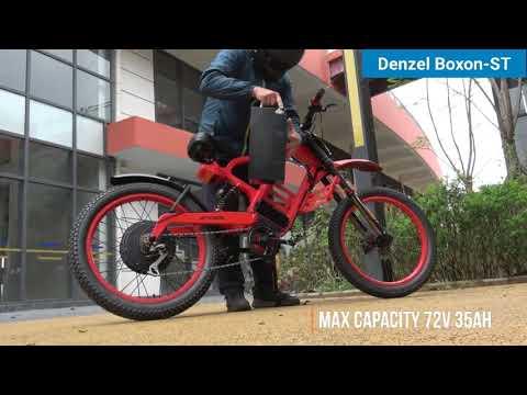 Unique Carbon Fiber Electric Bicycle Denzel Boxon-ST