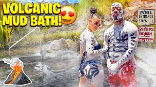 VOLCANIC MUD BATH IN ST. LUCIA WITH THE PRINCE FAMILY ❤️