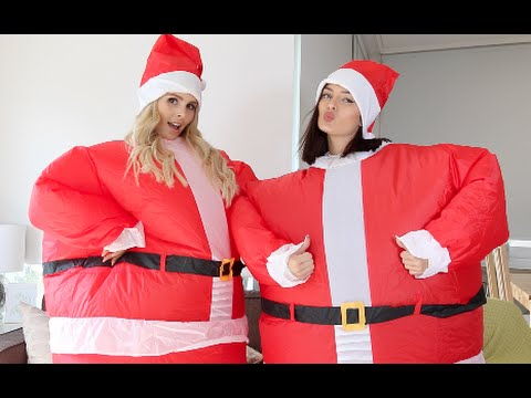 2015 Christmas Gift Guide with Chloe & Rach in Santa Suits!