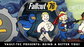 Fallout 76 – Vault-Tec Presents: Being a Better You! Perks Video
