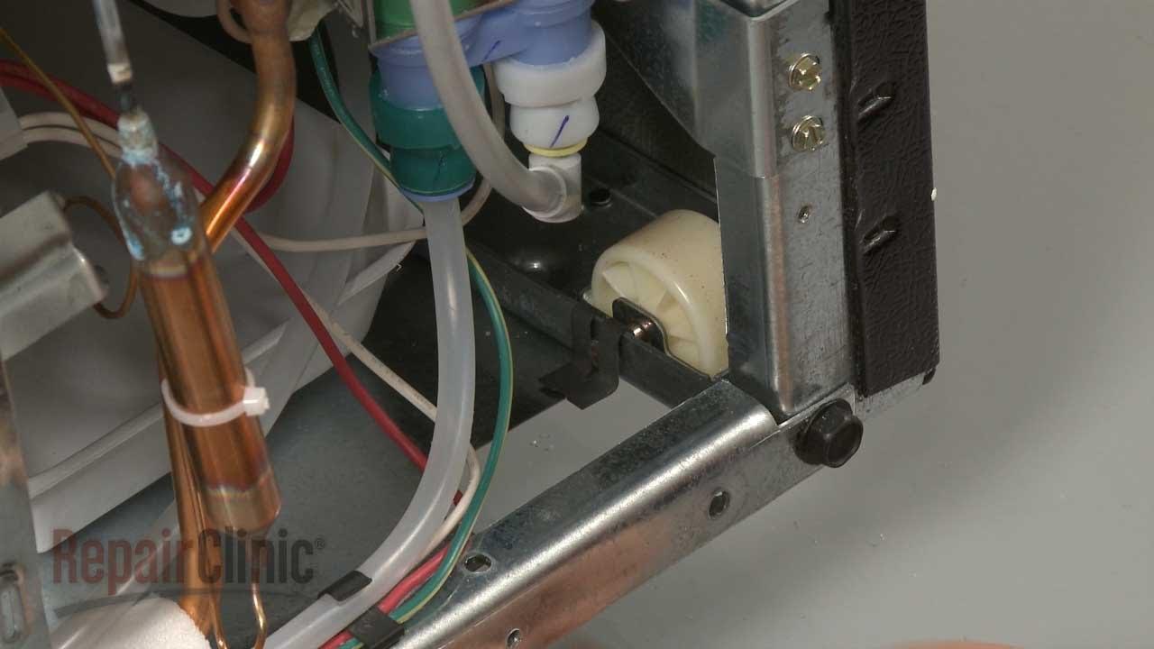 Fridge Rear Wheel Replacement Whirlpool Refrigerator