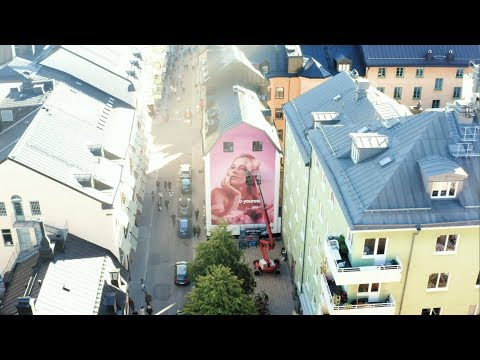 Listen to yourself by Arvida Byström - Mural painting