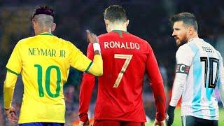 Neymar vs Cristiano Ronaldo vs Messi ● National Heroes