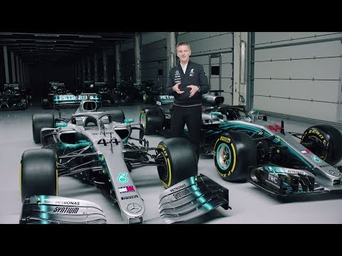 2019 vs 2018 Mercedes F1 Car Explained!