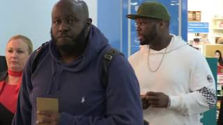 '50Cent's exclusive walk through Melbourne Airport' #15MOF