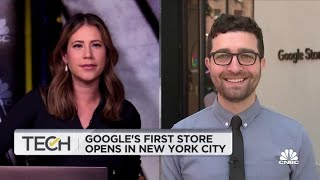 Google's first store opens in New York City