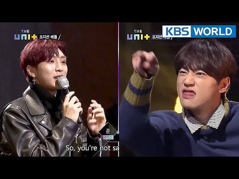 Diss is a must in a Rap Battle! Teammate is no exception! [The Unit/2018.01.17]