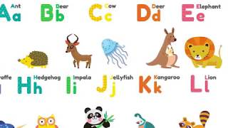 ABC song for Kids | Simple ABC Nursery Rhyme | Learning is Fun